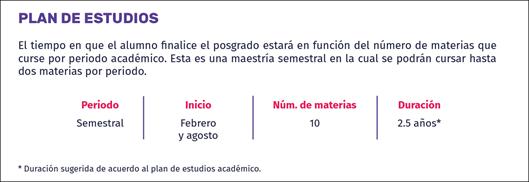Plan de estudios MTE
