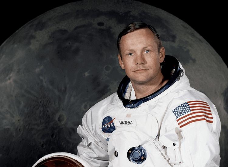 Retrato de Neil Armstrong