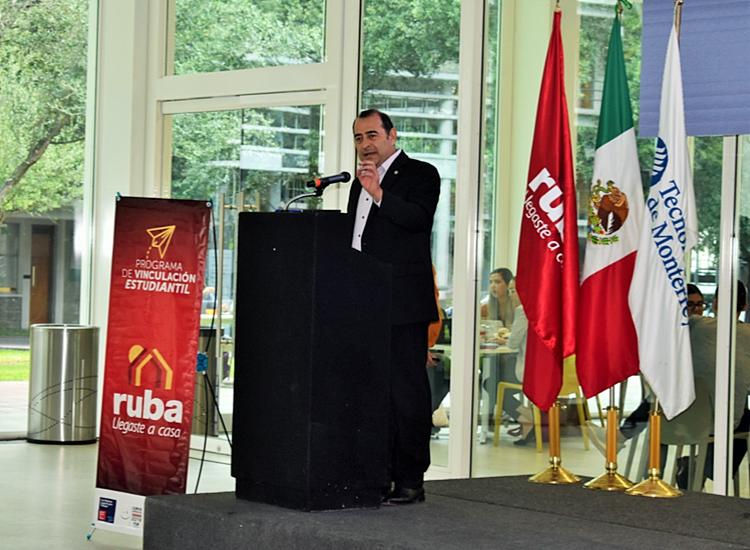 Ing. Martín López Méndez, Director de Vinculación Organizacional del Tec de Monterrey