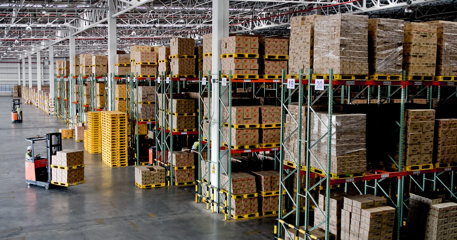 Area logistica cadena suministro